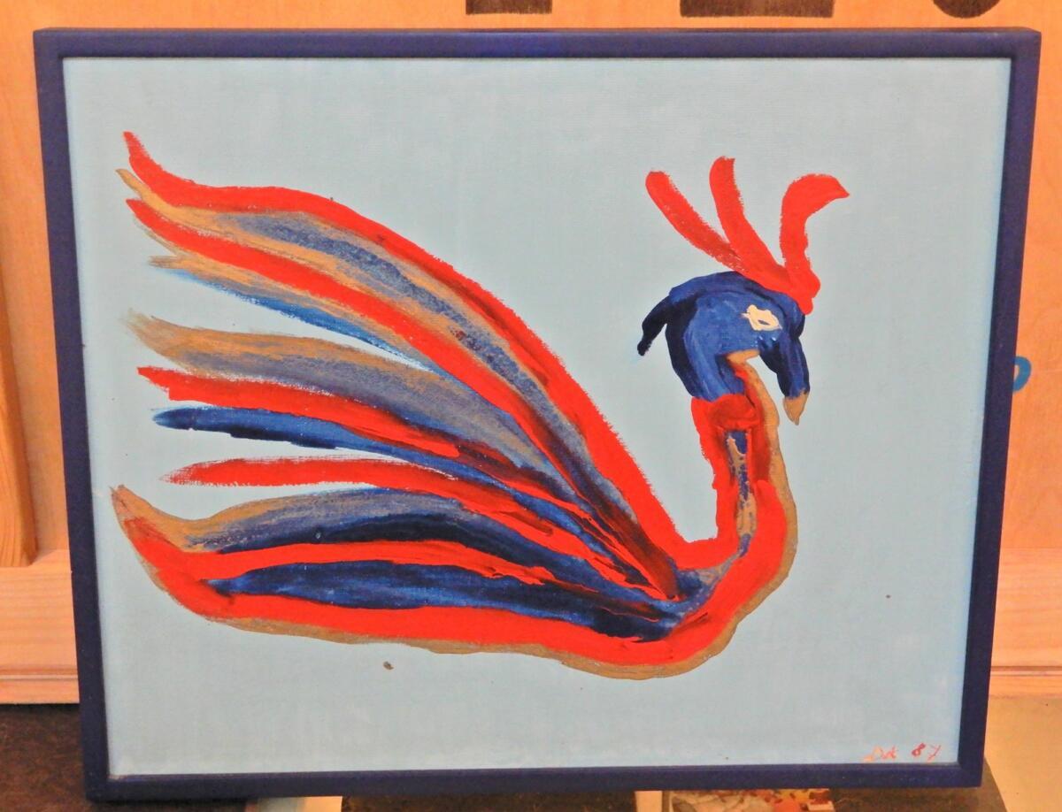 «l'oiseau bleu»
